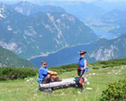 A Walking Holiday in Austria wouldn't be complete without Spectacular Views onto Stunning Scenery