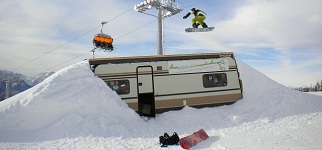 Trailer Park is one of the snow parks in the area.