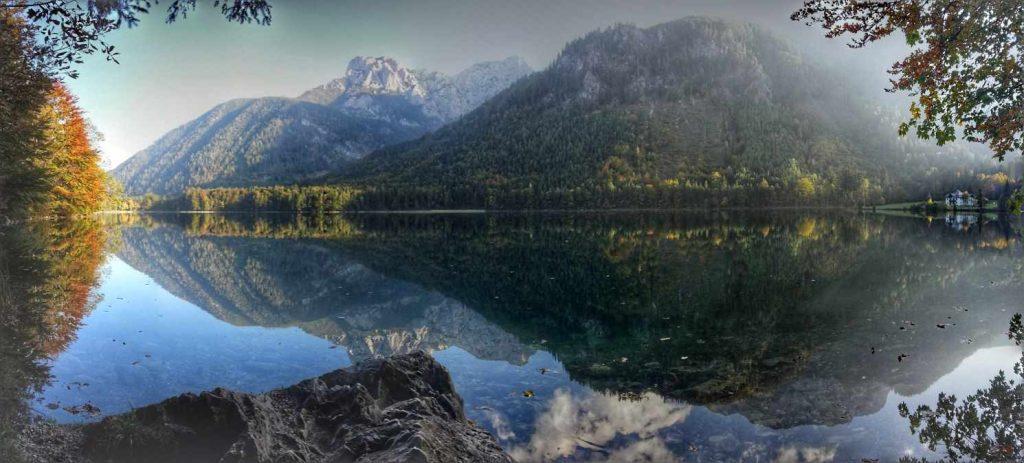 Beautiful lake in Austria