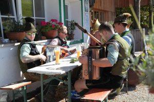 Austrian Alpine Alm with music