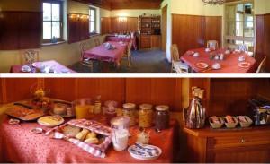 Rosenhof B&B Ebensee Austria Continental Breakfast Buffet