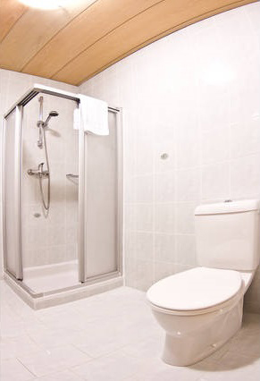 Rosenhof B&B Ebensee Austria Ensuite Bathroom