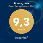 Guests Love Rosenhof!